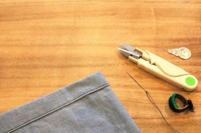 裁縫と手縫い