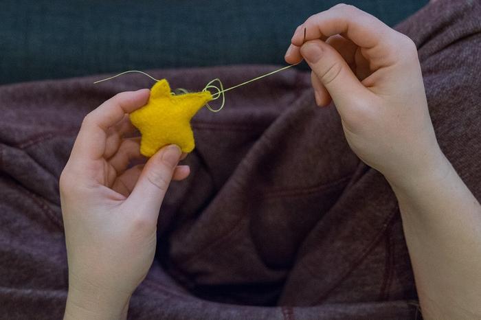 裁縫が好き
